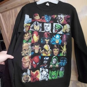 Young mens Marvel thermal